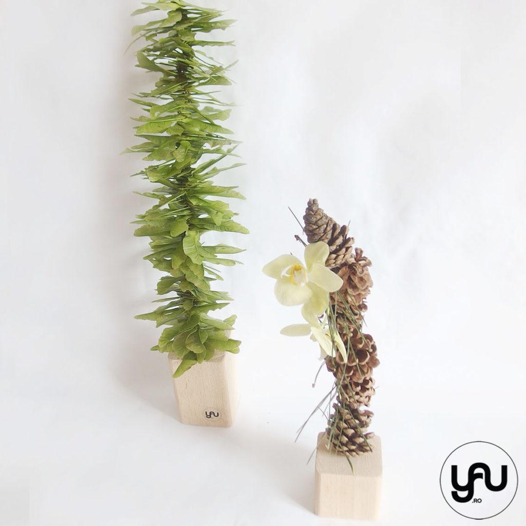 Orhidee conuri si avioane in TURNURI VEGETALE YaU Concept Elena TOADER