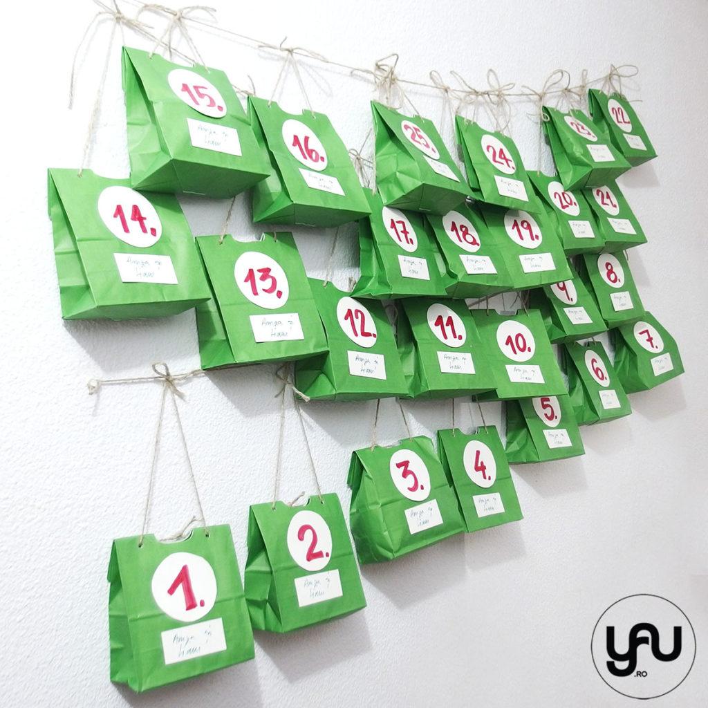 Calendarul de ADVENT al baietilor yau.ro YaU Concept Elena Toader