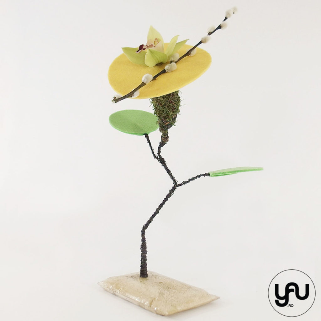 Flori geometrice cu ORHIDEE | YaU SPRING 2020 yau.ro yau concept elena toader