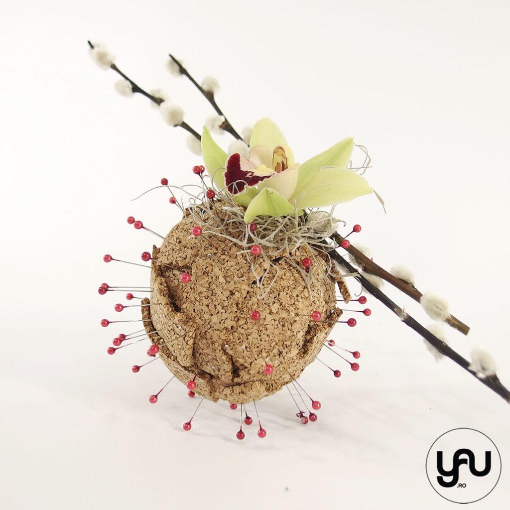 Aranjament floral ORHIDEE   YaU SPRING 2020 yau.ro yau concept elena toader