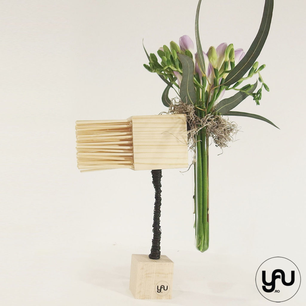 Asimetrie si FREZII yau.ro yau concept elena toader aranjament floral frezii