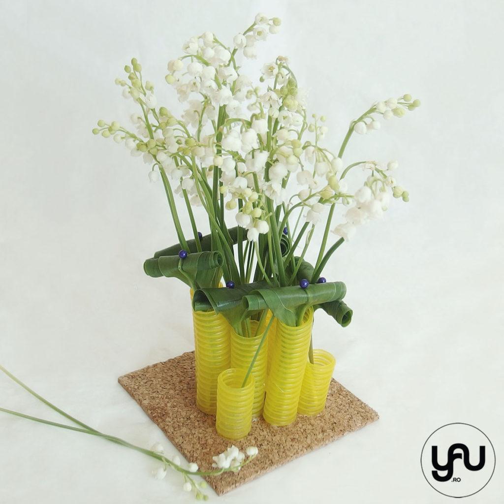 Aranjament cu LACRAMIOARE yau.ro yau concept elena toader