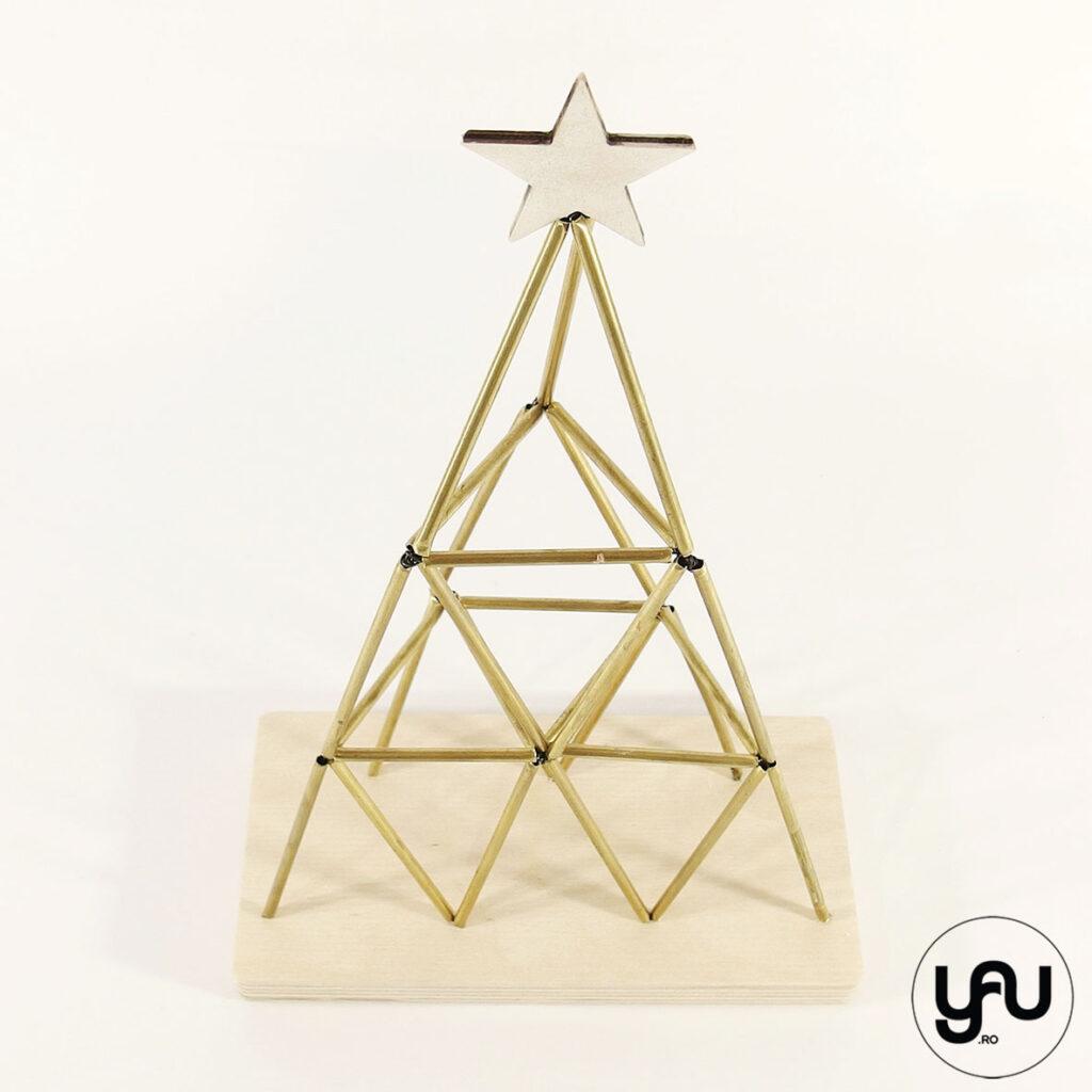 Brazi CRACIUN geometrici   YaU CRACIUN 2020