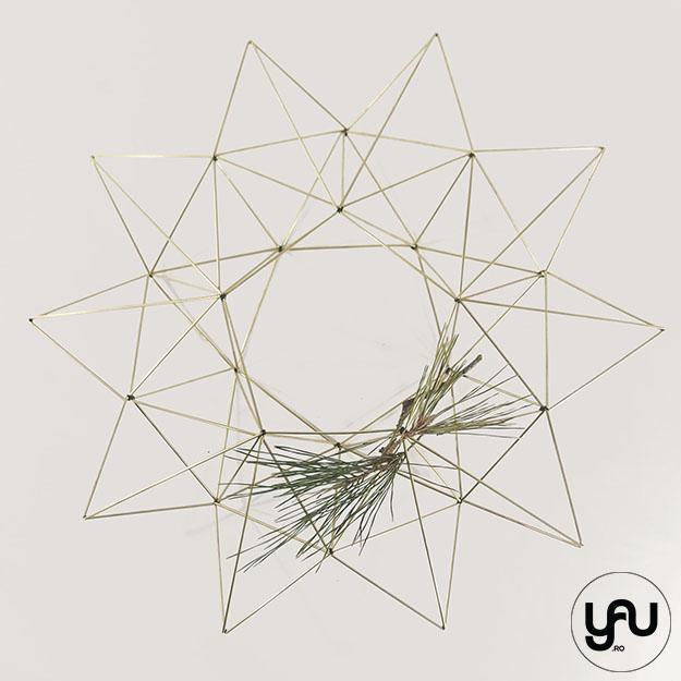 Coronite CRACIUN geometrice | YaU CRACIUN 2020