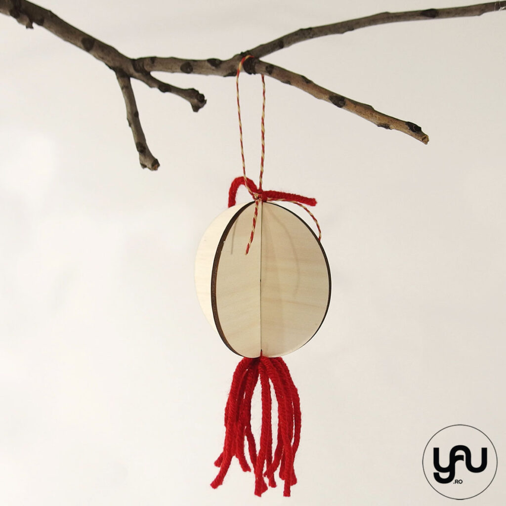 Decoratiuni CRACIUN lemn si lana | YaU CRACIUN 2020