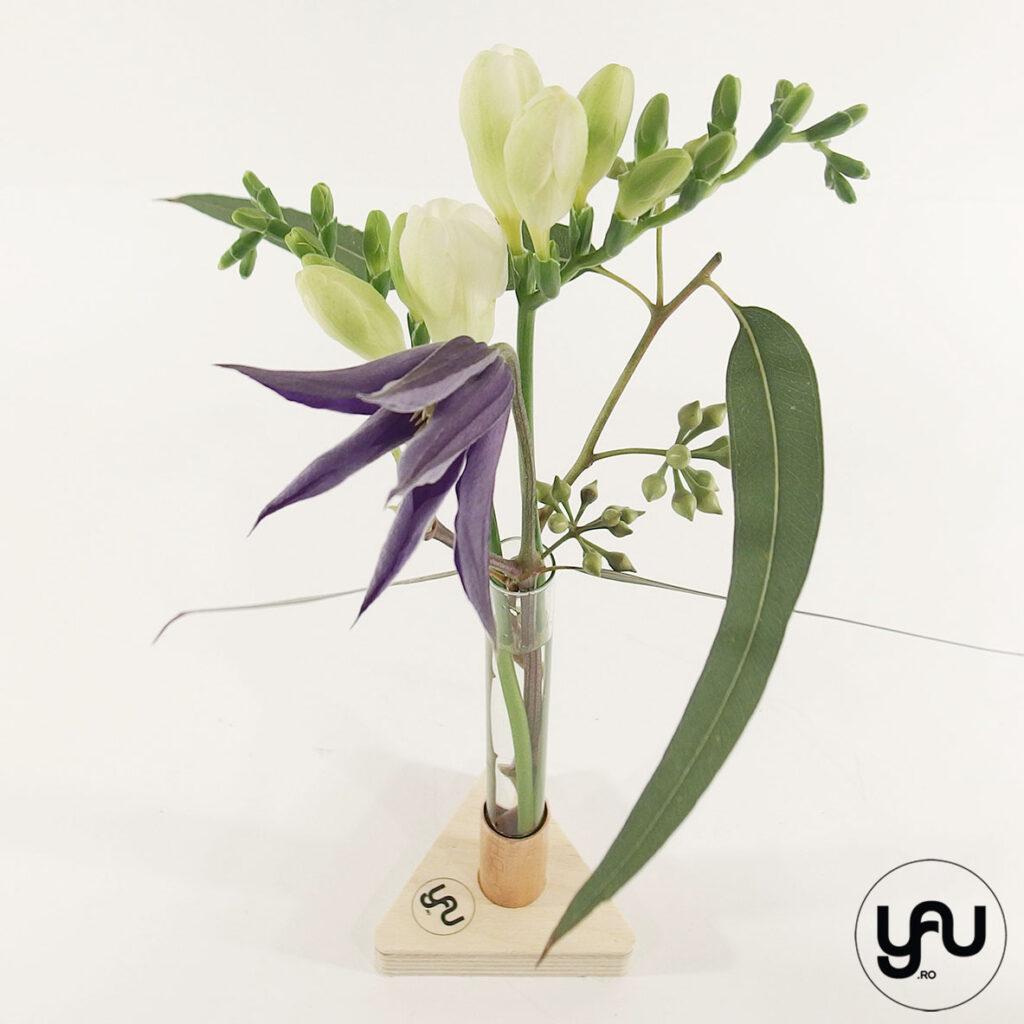 Aranjament floral FREZII si CLEMATIS   YaU PRIMAVARA 2021
