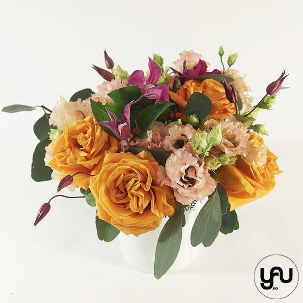 Trandafiri portocalii yau.ro elena TOADER