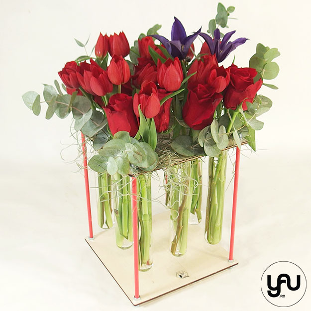 Trandafiri, Lalele si Clematis
